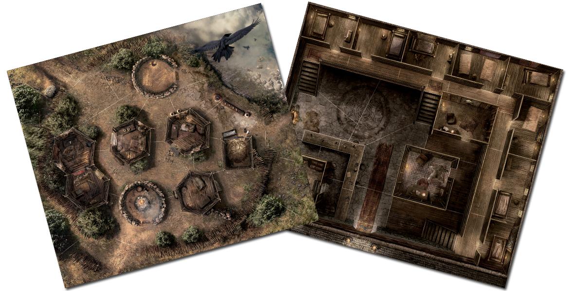 Conan, les plateaux réversibles © Monolith