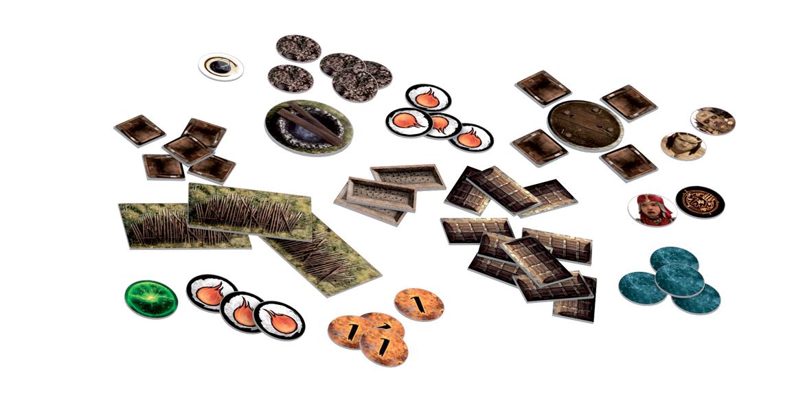 Conan, tuiles et accessoires © Monolith
