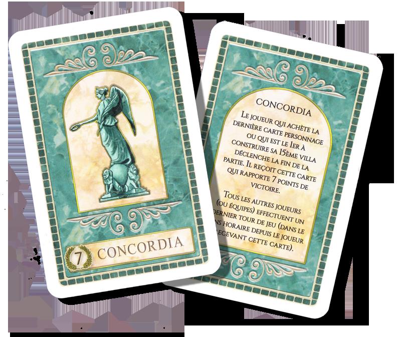 Concordia Venus, carte Bonus Concordia © Matagot