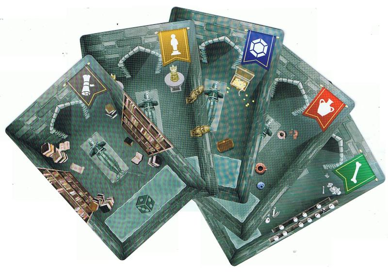 Crypt, le dos des cartes © Oz Editions / Chin / Nerger