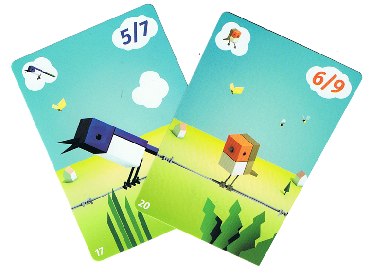 Cubirds, deux piafs © Catch Up Games / Der Nederlanden / Alexander