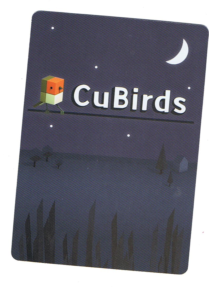 Cubirds, l'envers des cartes © Catch Up Games / Der Nederlanden / Alexander