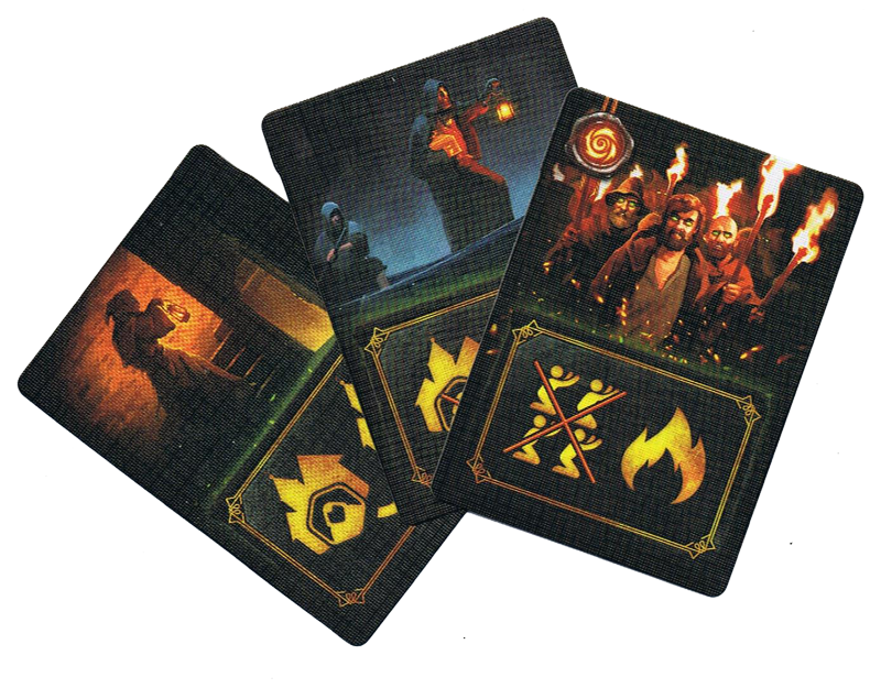Culte, cartes Miracle (non homologuées par le Vatican) © Bragelonne / Kvasovaroy / Seleznev
