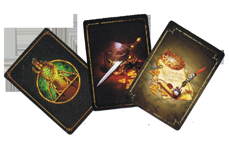 Culte, les dos des cartes © Bragelonne / Kvasovaroy / Seleznev