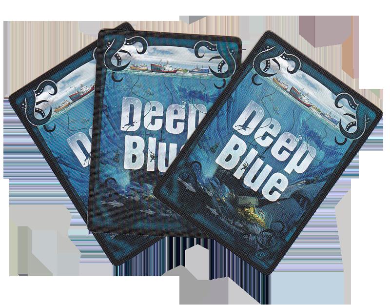Deep Blue, le dos des cartes équipage © Days of Wonder