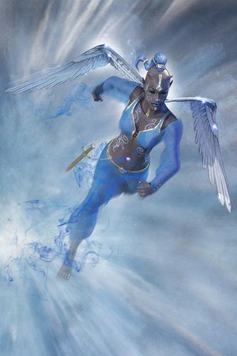 Dokmus, un des cinq Gardiens © Lautapelit
