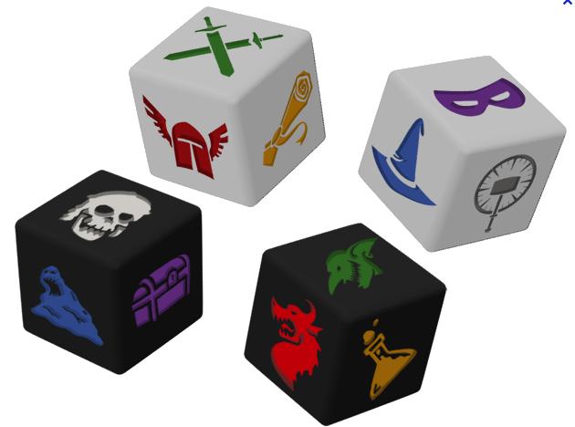 Dungeon Roll, pour une poignée de dés © Edge