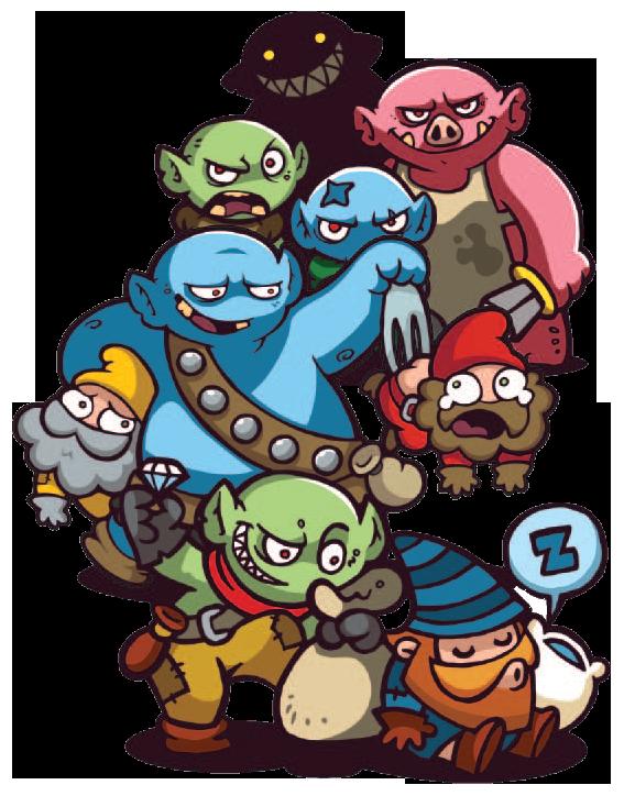 Dwarfs, illustrations du jeu... © Mage Company / Brüeh
