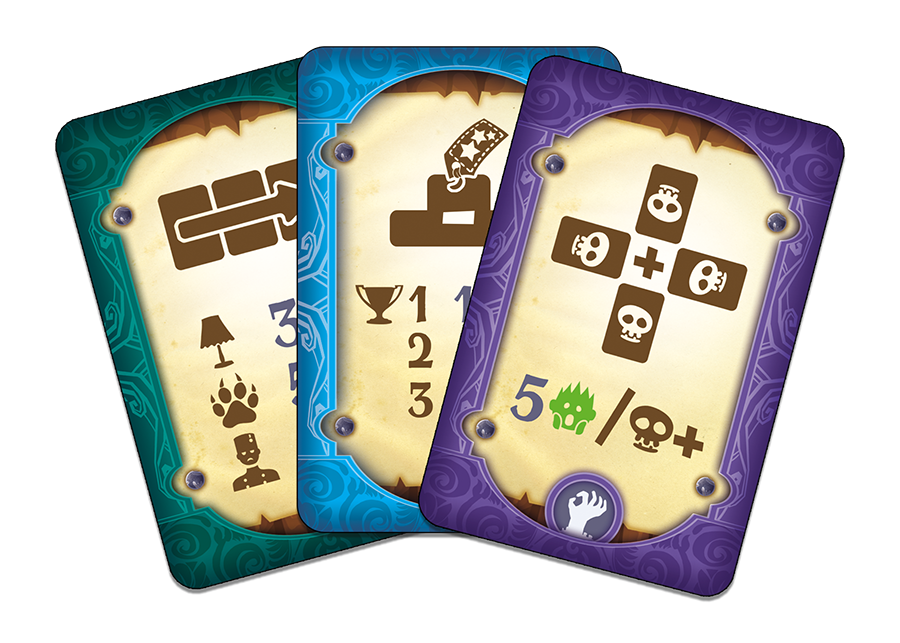 Freak Shop, cartes Objectif © Catch Up Games / Coimbra / Kermarrec