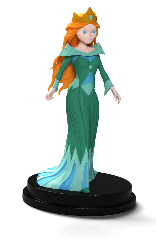 Fairy Tiles, la Princesse © Iello / Coimbra / Dunstan / Gilbert