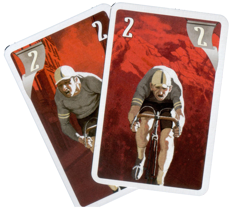 Flamme Rouge, cartes Fatigue... © Gigamic