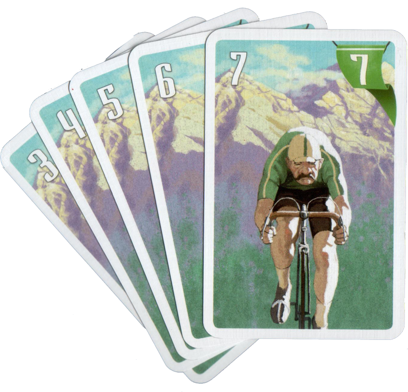 Flamme Rouge, quelques cartes du Rouleur © Gigamic