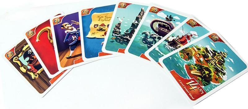 Galions, Canons & Doublons, une poignée de cartes © Edge