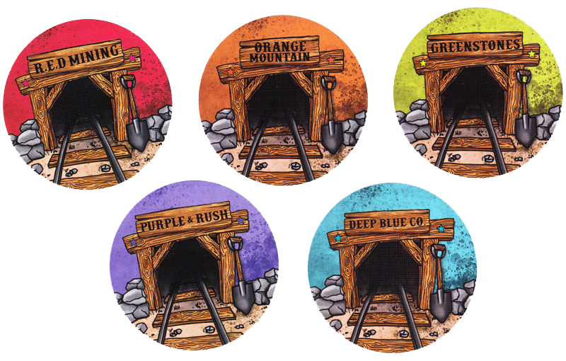 Gold, les (bonnes?) mines © Game Factory / Friedli / Knizia