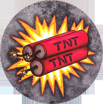 Gold, certains conflits se règlent à coup de TNT © Game Factory / Friedli / Knizia