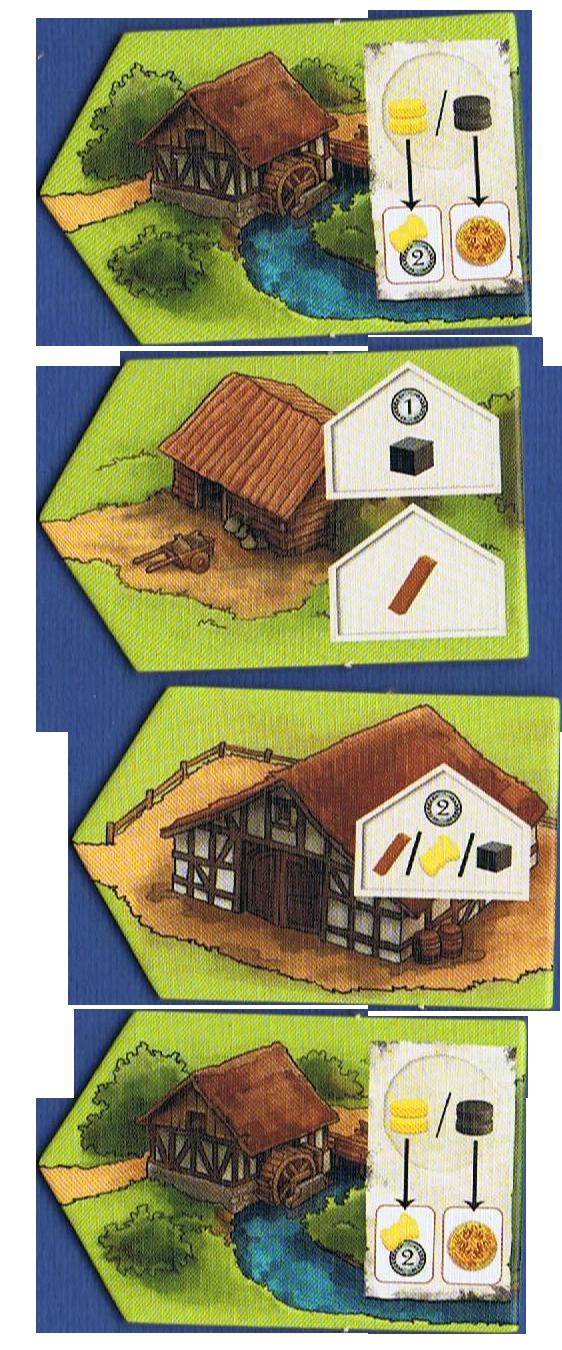 Haspelknecht, les bâtiments © Quined Games / Sich / Spitzer