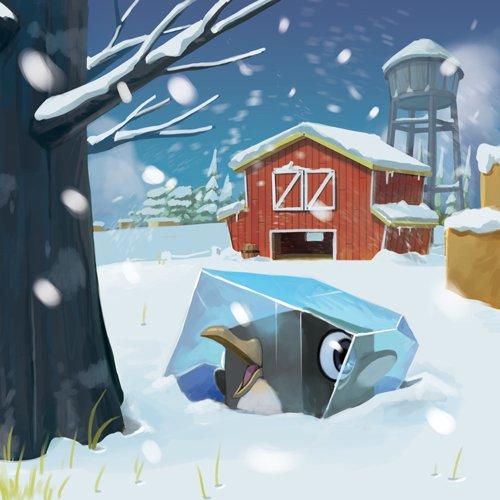 Happy Pigs, le vent froid de l'hiver © Iello / Biboun / Mura