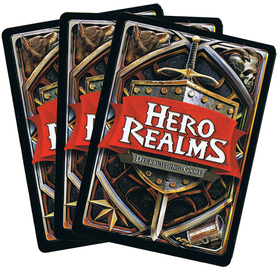 Hero Realms, le dos des cartes... © Iello