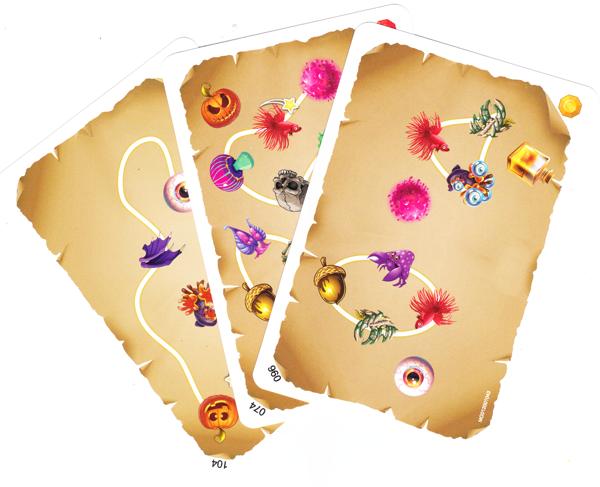 Imagicien, cartes Formule © Blam ! / Bernon / Mahy