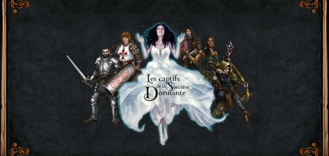 Initiation au jeu de Rôle - Medieval Fantas, l'écran, côté joueur © 404 Editions / Honoré / Lévin