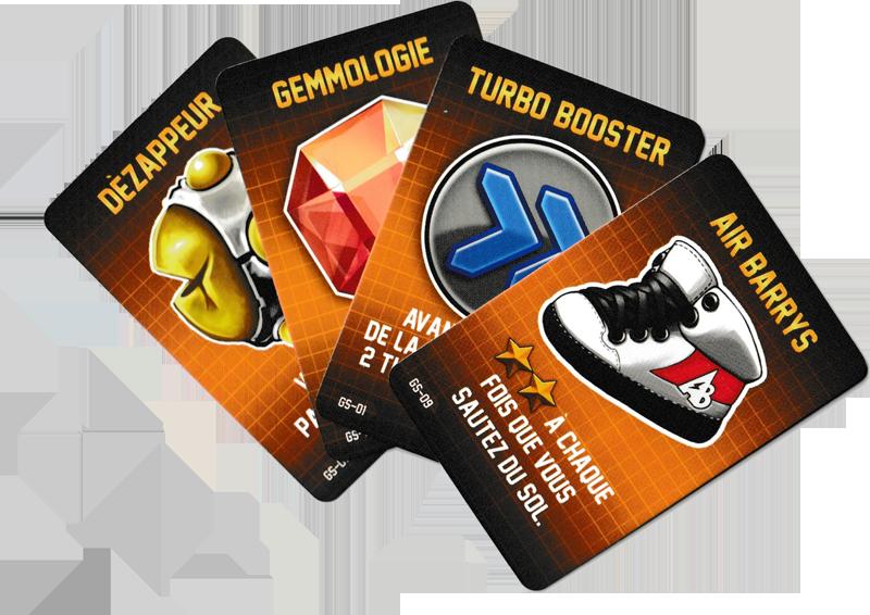 Jetpack Joyride, des Gadgets rigolos © Lucky Duck Games
