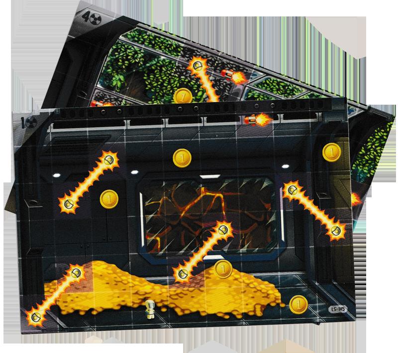 Jetpack Joyride, des tronçons de Labo particulièrement dangereux © Lucky Duck Games