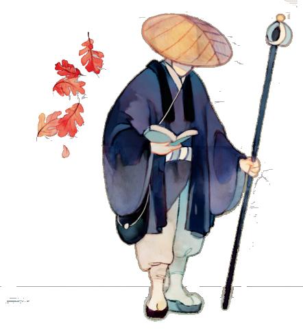 Kanagawa, personnage © Iello / Mosch / Chevalier / Cathala