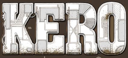 Kero, le logo du jeu... © Hurrican / Piérô La lune / Prospero Hall