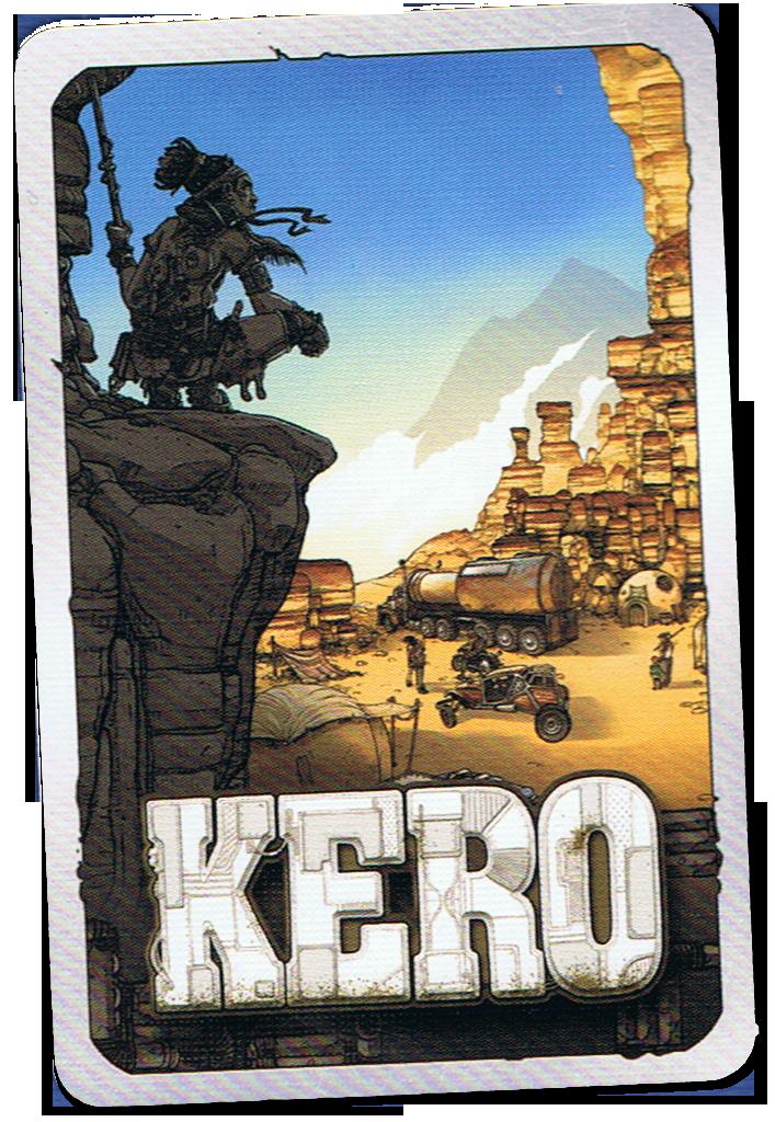Kero, le dos des cartes... © Hurrican / Piérô La lune / Prospero Hall