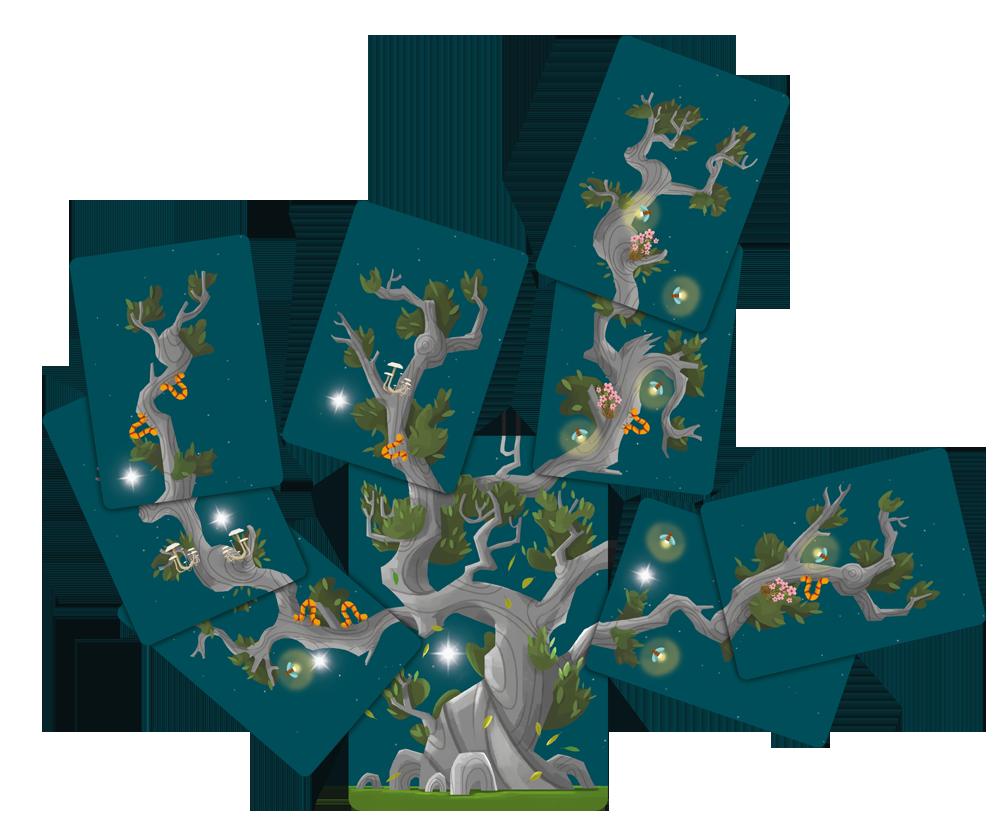 Kodama, un arbre en pleine croissance ©  Capsicum Games / Moriya / Solis