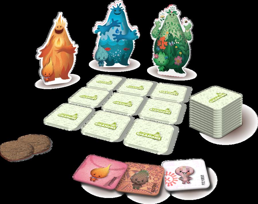 La Chasse aux Gigamons, Partie en cours © Elemon Games / Bonneterre