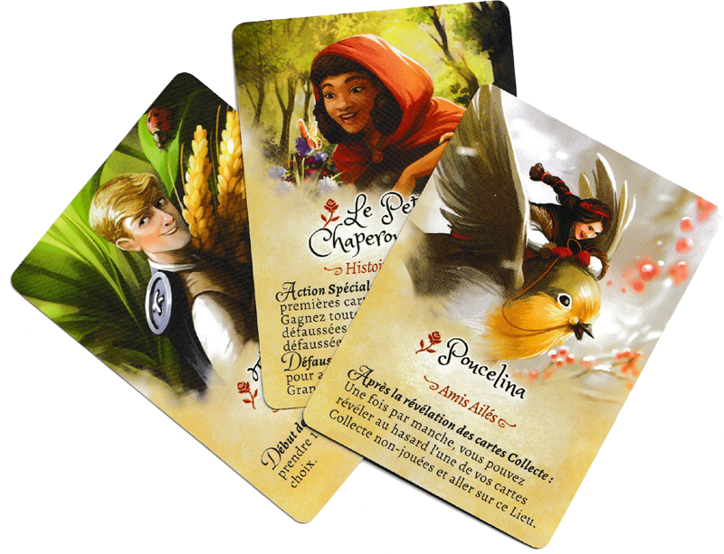 La Forêt des Frères Grimm, des Amis précieux © Lucky Duck Games / Cuddington / Eisner