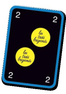 Le jeu des trois brigands, une carte trésor © L'Ecole des Loisirs