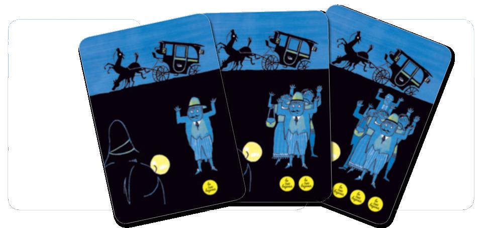 Le jeu des trois brigands, le petit, le moyen et le grand butin © L'Ecole des Loisirs