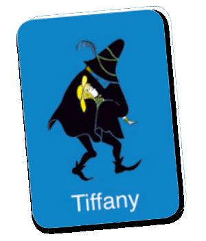 Le jeu des trois brigands, carte Tiffany © L'Ecole des Loisirs