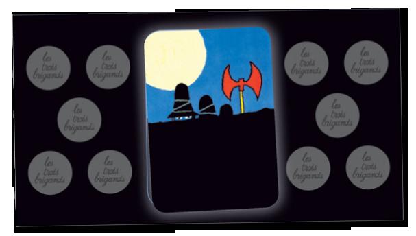 Le jeu des trois brigands, le plateau individuel © L'Ecole des Loisirs