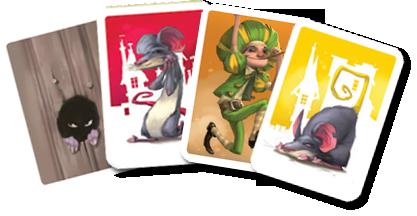 Le Joueur de Flûte, quelques cartes Personnage © Purple Brain / Leyssenne / Largeaud
