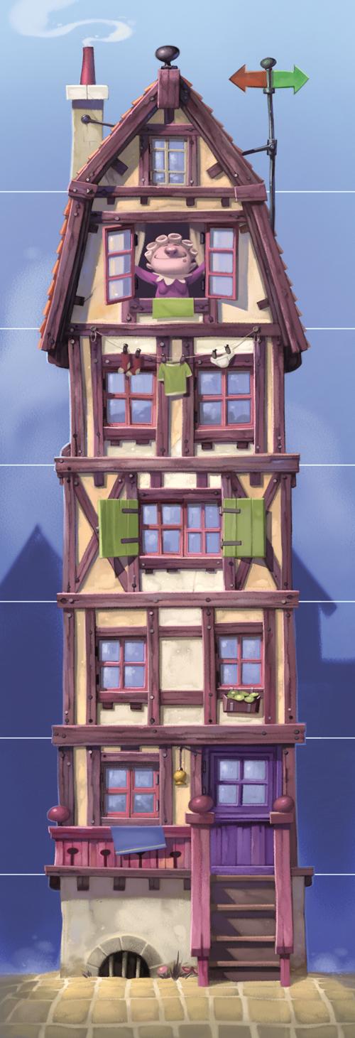 Le Joueur de Flûte, une paisible maison © Purple Brain / Leyssenne / Largeaud