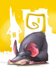 Le Joueur de Flûte, un (autre) rat des villes © Purple Brain / Leyssenne / Largeaud