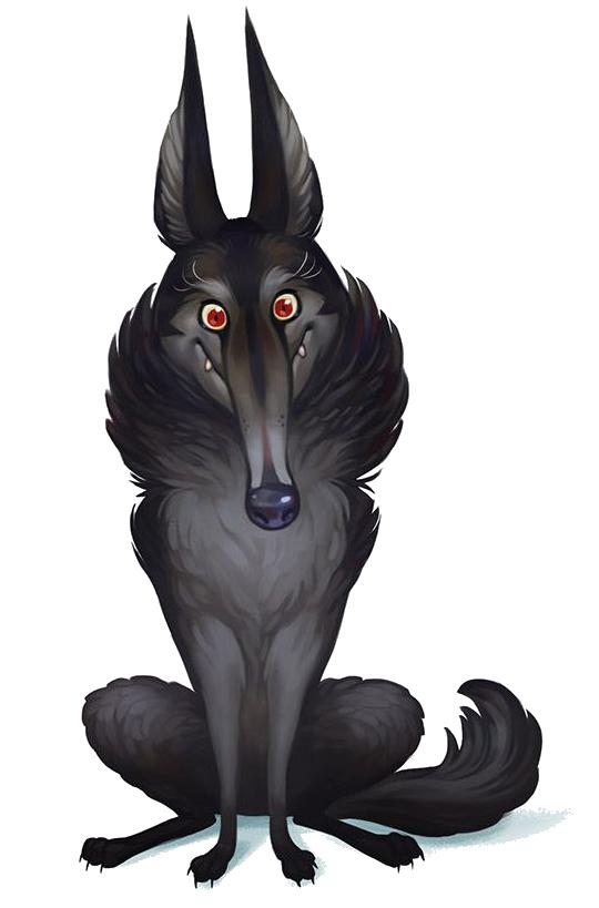 Le Petit Chaperon Rouge, le (superbe) Grand Méchant Loup © Purpple Brain / Fleury / Lobet