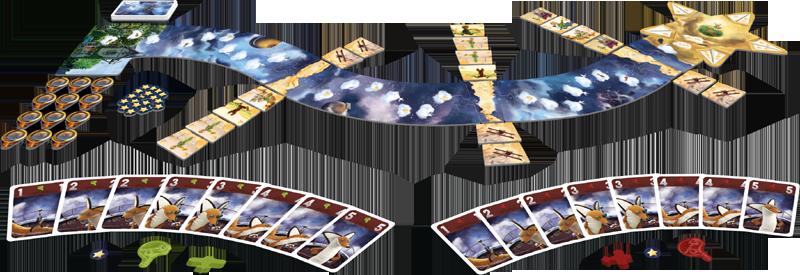 Le Petit Prince - Voyage vers les étoiles, le matériel © Ludonautes