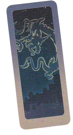 Les Ombres de Macao, carte Premier Joueur © Ankama / Aucompte / Chevalier