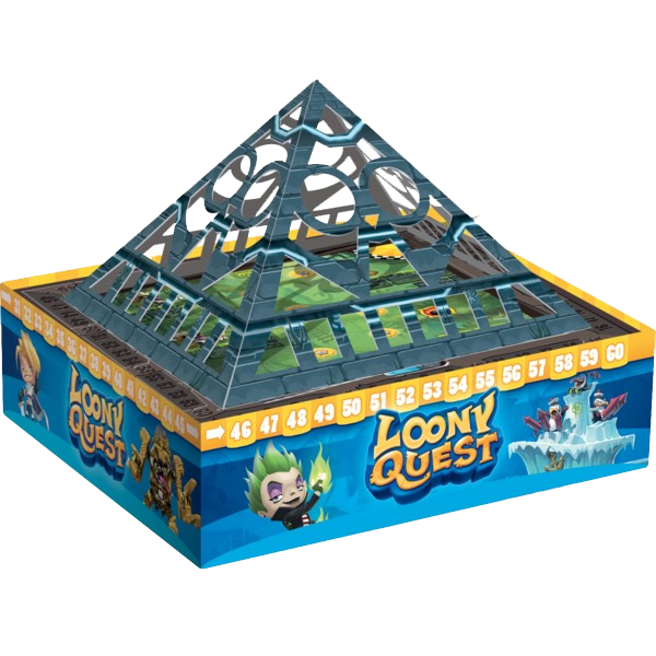 Loony Quest - The Lost City, le (terrible) vaisseau-pyramide (des sadiques je vous dis!) © Libellud / Mafayon / Escoffier / Franck