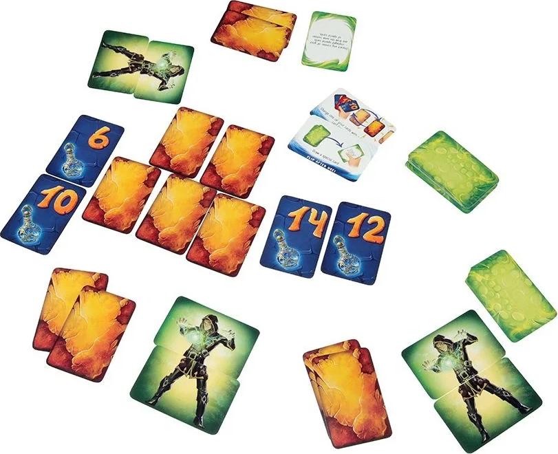 Loser, aperçu du matériel © Lifestyle Boardgames Ltd / Petruk / Dutrait / Cathala