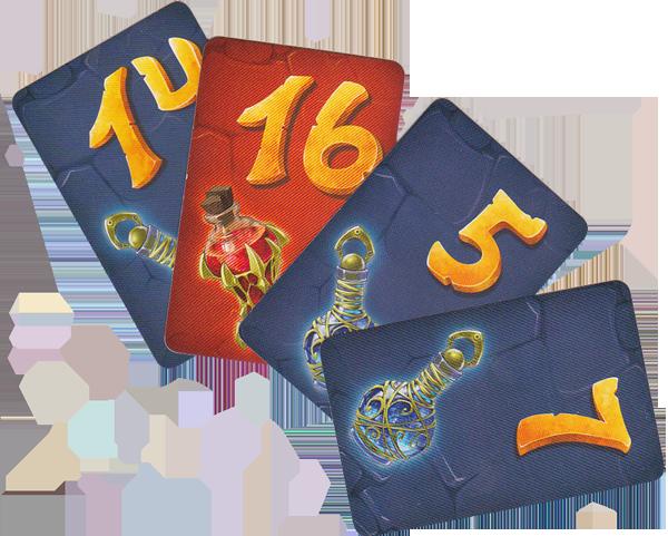Loser, cartes Potion © Lifestyle Boardgames Ltd / Petruk / Dutrait / Cathala