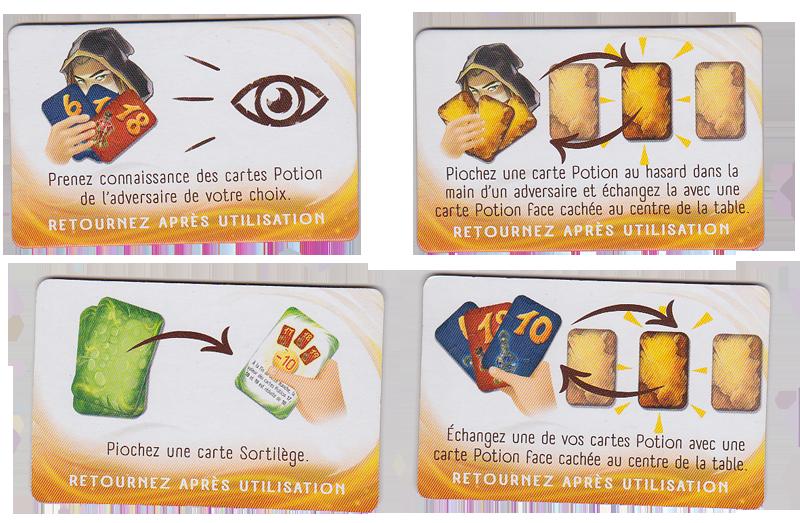 Loser, Tuiles Action (réversibles) © Lifestyle Boardgames Ltd / Petruk / Dutrait / Cathala