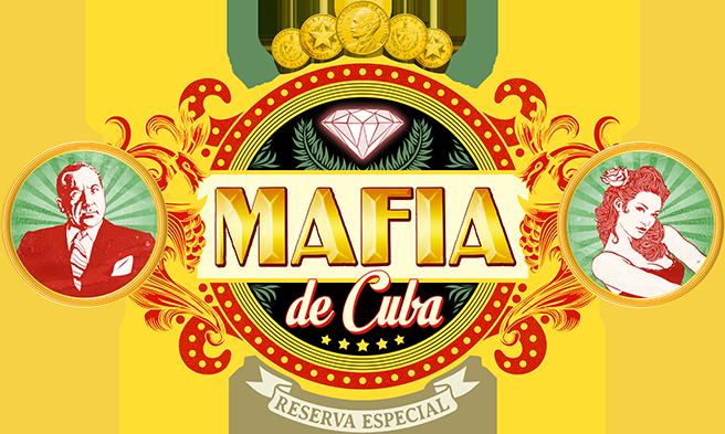 Mafia de Cuba, logo du jeu, en forme de bague de cigare © Lui-Même / Vuarchex
