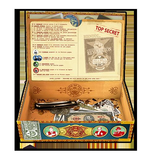 Mafia de Cuba, de double fond de la boîte à cigare du Parrain © Lui-Même / Vuarchex