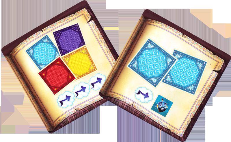 Magic Fold, cartes Défi Standard © Offline Edition / Matt / Goh / Cathala