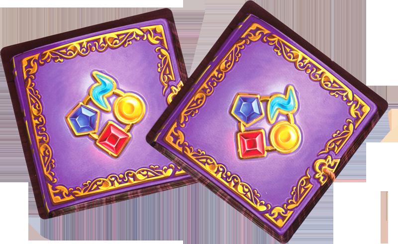 Magic Fold, le dos des cartes Défi © Offline Edition / Matt / Goh / Cathala